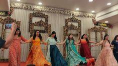 Lagdi hai Thai l Morni Banke l Sangeet l Saloni Modi Choreography Wedding Dance Video, Wedding Videos, Indian Wedding Songs, Ladies Sangeet, Bride Entry, Latest Bridal Dresses, Couple Wedding Dress, Sangeet Outfit, Dance Choreography Videos