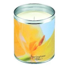 Aunt Sadie's Springtime Daffodils Candle
