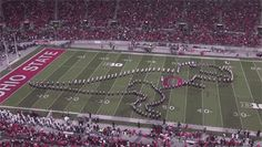 The secret to Ohio State's epic shows: The university's marching band took its halftime shows to the next level -- and gained YouTube fame -- with the help of an iPad app.