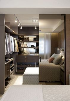 Dressing chambre à coucher – dressing – dressing moderne –  deco