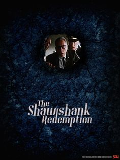 The Shawshank Redemption by Stacy Wallingford 1990s Films, Stephen King Books, The Shawshank Redemption, Top Film, Danse Macabre, Alternative Movie Posters, Print Ads, Movie Quotes, Movies And Tv Shows