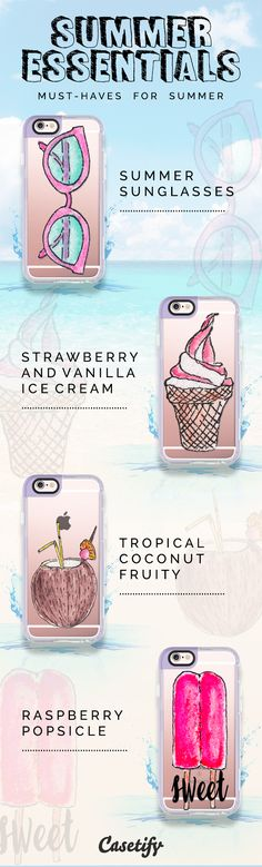 Remember to take your #summer essentials with you when going out! Shop them here >>> https://www.casetify.com/artworks/CohOLPruzy | @casetify
