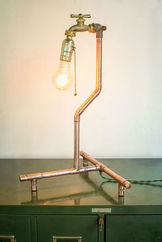 Table Lamp by Nine & Twenty | Part of Handmade Arcade 2013 in Pittsburgh, PA | http://www.handmadearcade.com/
