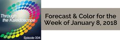"Your Forecast for the Week of January 8, 2018 The additional understanding you gained the first week of the month will have you feeling more centered and trusting of yourself. This aligns you perfectly with the ""intuitive"" part of 2018's energy. You'll want to tap into these feelings, this way of being, and any insights gained in the weeks and months ahead. Be sure to reflect on what it now means to you, right now, to be Intuitively Vibrant, aligned with Peace & Joy. Show Notes:  J"