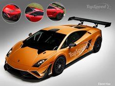 2013 Lamborghini Gallardo GT3 FL2