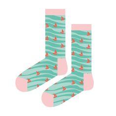 Wave Sandbanks!   #socks #funkyfellas #Illustrations #travel #Clouds #art