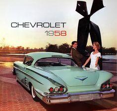 1958 Chevrolet Impala advertisement