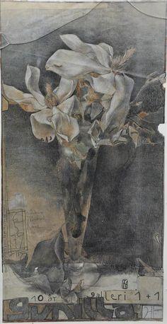 Janssen, Horst Farboffsetdruck (1929-1995) Gunilla Galleri via