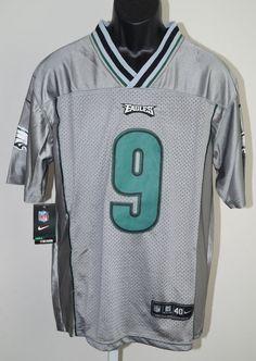 83ae283f5 Nick Foles  9 Silver Eagles Jersey Size 40 NWT  PhiladelphiaEagles