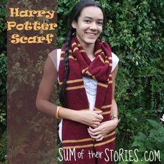 Harry Potter Scarf Pattern