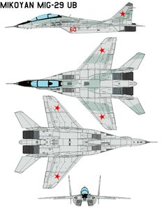 Mikoyan MiG-29 ub by bagera3005