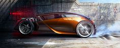 Hot rod Making of : The ultimate race by Olivier Gamiette, via Behance