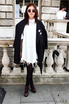 London Fashion Week - Street Style - September 2012