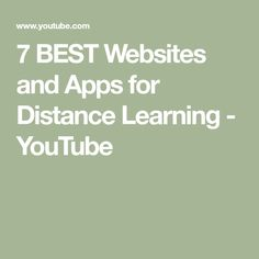 7 BEST Websites and Apps for Distance Learning Kids Websites, Cool Websites, Pocketful Of Primary, Future Videos, News Apps, You Used Me, Google Classroom, Distance, Tech