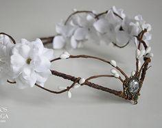 elven bride tiara  - elven tiara - fairy circlet