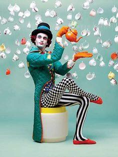 Queensland Ballet Wonderland for François Klaus's Final Year Circus Fashion, Pop Fashion, Alice In Wonderland Ballet, Clown Clothes, Alice Costume, Wonderland Costumes, Ballet Costumes, Adventures In Wonderland, Poses