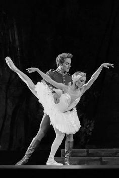 Steven McRae and Sarah Lamb in The Royal Ballet's Swan Lake.