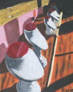"""1 To se mi líbí, 1 komentářů – David Skala (@davidskalaart) na Instagramu: """"Stands"""" Jewelry Stand, David, Painting, Art, Art Background, Jewellery Stand, Painting Art, Kunst, Paintings"""