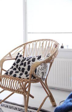 hunajaista parolan rottinki lumikenka tuoli