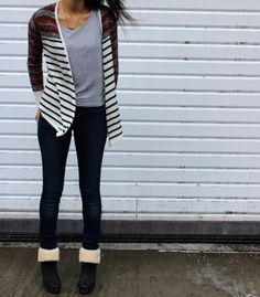 henry & belle jeans // tribal sweater // ugg boots
