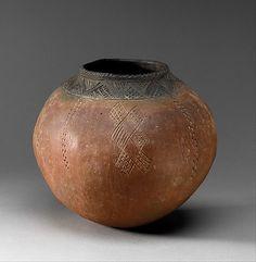 Storage Jar Period: Middle Kingdom Date: ca. 2000–1600 B.C. Geography: Country of Origin Egypt and Sudan, Nubia, Gebel Faras, Cemetery 2, Gr...