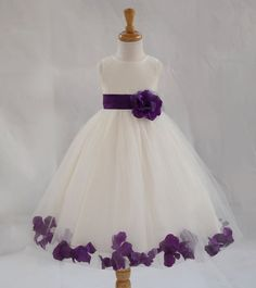 Hey, I found this really awesome Etsy listing at https://www.etsy.com/listing/207123041/ivory-purple-pictured-flower-girl-dress                                                                                                                                                      More