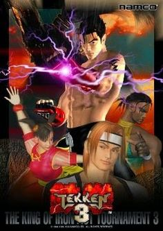 Tekken 3 Game . Tekken 3 Game Free Download for PC Full Version. Tekken 3 Game has benn developed by NAMCO and presented by NAMCO.Tekken  3 is a very Famouse Game in this world at this time.Mostly people play this Game and enjoy.
