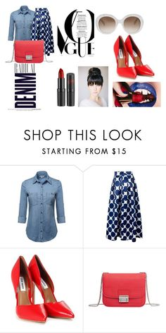 """""""Untitled #32"""" by ruth-jaimie-hollingsworth on Polyvore featuring Alima, Steve Madden, MANGO and Gucci"""