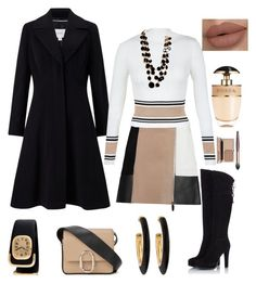 """""""Beige & Black"""" by laineys on Polyvore featuring John Lewis, Alexander Wang, New Look, Fratelli Karida, 3.1 Phillip Lim, Chico's, Tiffany & Co. and Prada"""