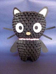 Chococat - 3D Origami