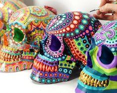 Cráneos de pared que exigimos   Etsy