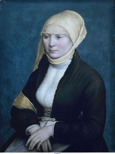 Hans Holbein the Younger- Artists Wife- 1517