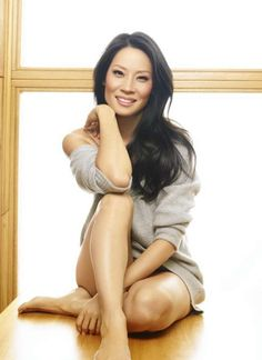 A fresh natural Lucy Liu.