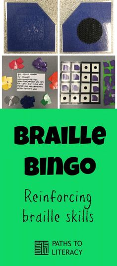 Braille Bingo is a great way to reinforce braille literacy skills with new contractions, words, punctuation, and more!
