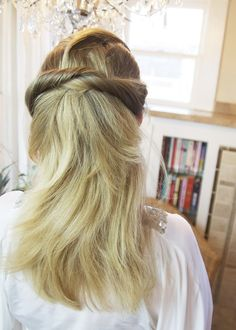 Hairstyle Trends 2015, 2016, 2017: How To Do The Best 3 Minute Woven, Chignon Up-do For Long, Medium-Length Hair