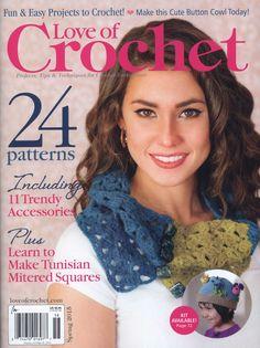 Love of Crochet  Spring 2015 - 轻描淡写 - 轻描淡写
