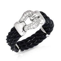 Lasso Black Bracelet