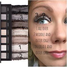 Younique Addiction eye shadow palette #2 www.laurellash.com