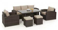 LA Sofa Dining Set - Koncept Furnishing