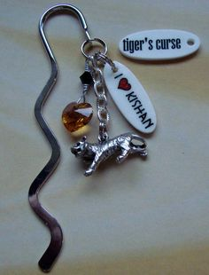 Bookmark made for Tiger's curse. I still don't know if I like Kishan or Ren more lol.