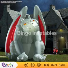 inflatable big halloween flying monster Thriller cartoon 5M high for halloween party decoration BG-A1129 toy