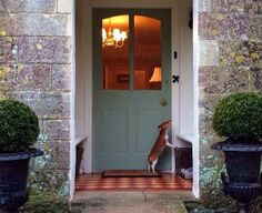 Great Recessed Entrance | Content in a Cottage