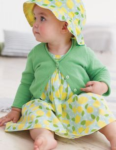 Cutest baby picture ever! she is a cutie! Baby Shop - Designer Baby Clothes - Toddler Clothes - Marie Chantal UK Baby Girl Green wow, this i. Cute Kids, Cute Babies, Toddler Outfits, Girl Outfits, Easter Outfit, Easter Dress, Designer Baby Clothes, Baby Cardigan, Mini Boden