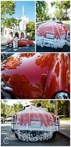 Awesome 1953 Ford Mercury!  Great wedding car:)
