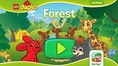 LEGO Duplo - Forest - iPad / iPhone / Android - SUBSCRIBE