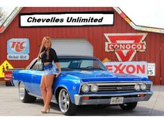 Beautiful Blondie and 1967 Chevelle SS 396