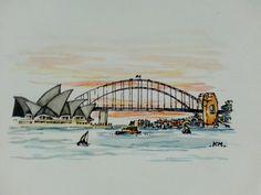 how to build large sydney harbour bridge model Sydney Skyline, Sydney City, Harbor Bridge, Sydney Harbour Bridge, Bridge Tattoo, Bridge Drawing, Bridge Model, Henna Tattoo Designs Arm, Art Alevel