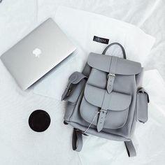 Fiswiss Women's Genuine Leather Fashion Backpack Purse School Backpack Cute Mini Backpacks, Stylish Backpacks, Girl Backpacks, Grafea Backpack, Backpack Purse, Backpack Handbags, Bags For Teens, Girls Bags, Look Fashion