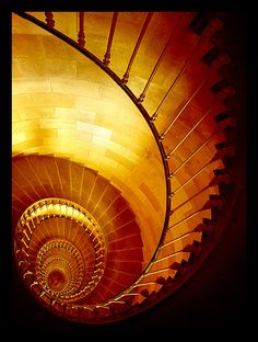 Awesome spiral staircase #stairs
