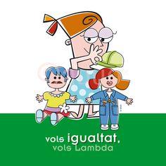 """Campaña """"Vols sumar-te"""", Colectivo Lambda Valencia. Igualdad-LGTB"""